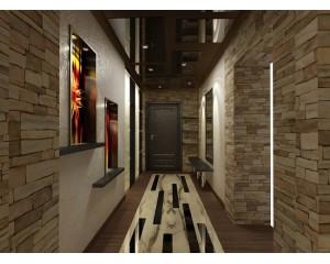 Натяжной потолок для коридора